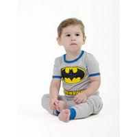 DC Comics Infant 'Batman Superhero Costume' Cotton Pajama Set