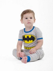 DC Comics Toddler 'Batman Superhero Costume' Cotton Pajama Set