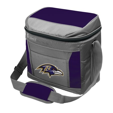 Baltimore Ravens Coleman 16-Can 24-Hour Soft-Sided Cooler - No Size