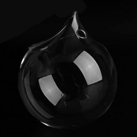 Creative Transparent Borosilicate Glass Wall Hanging Fish Tank Clear Vase - image 2 de 8
