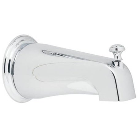 "Moen 3808P 5 3/4"" Tub Spout with 1/2"" Slip Fit Connection (With Diverter), Available in Various Colors"