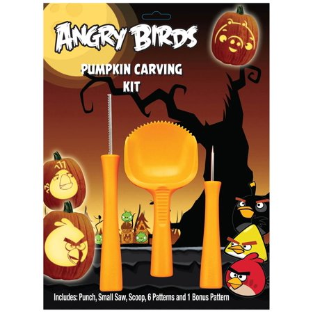 Angry Bird Pumpkin Decorating (Angry Birds Pumpkin Carving)