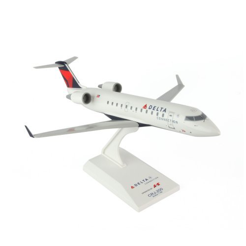 Skymarks Delta CRJ200 ASA 1/100 Model Airplane