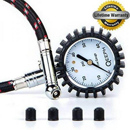 QEEPH Premium Tire Pressure Gauge Flexi (60 PSI) - Large 2