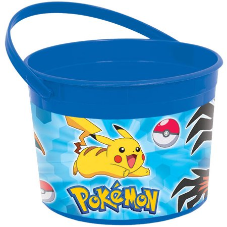 Pokemon Pikachu and Friends Favor Container (Each) - Pokemon Birthday Favors
