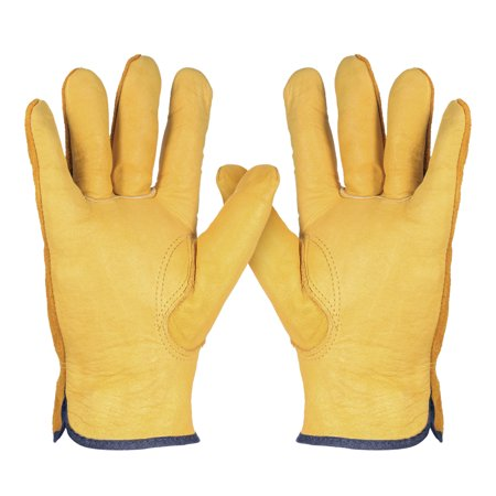 Leather Working Gloves Men