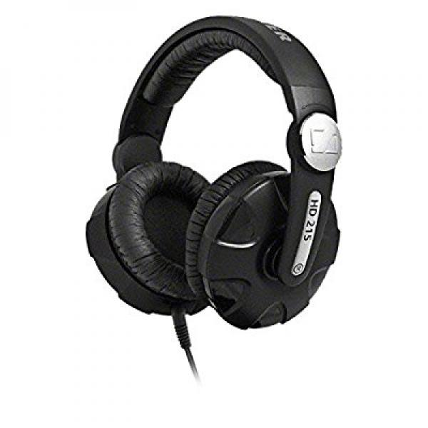 Sennheiser HD 215 Extreme DJ Sound Headphones with Swivel Earcup & Detachable Coiled Cable by Sennheiser