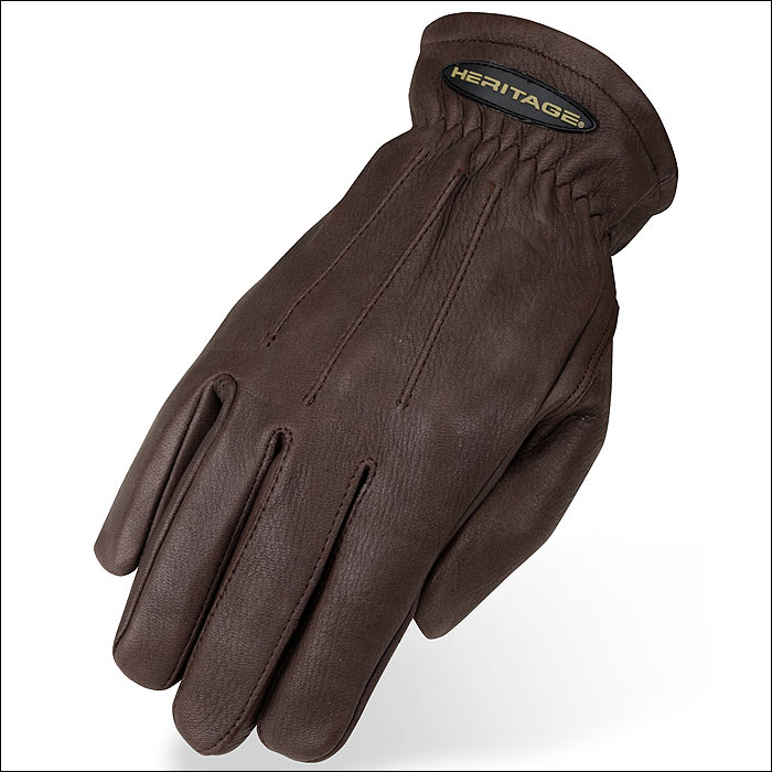 Heritage Ind 6 SIZE HERITAGE SHEEPSKIN TRAIL RIDING GLOVE...