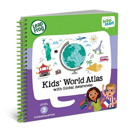 LeapFrog LeapStart Kindergarten Activity Book: Kids' World Atlas and Global Awareness