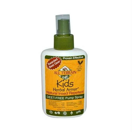 All Terrain Kids Herbal Armor Inspect Repellent Spray, 4 Oz - Herbal Armor Insect Repellant