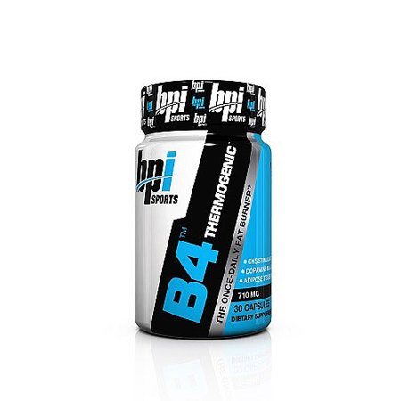 BPI Sports B4 Fat Burner capsules, 710 mg, 30 Ct