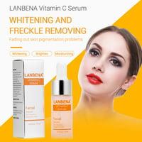 EOTVIA Whitening Moisturizing Facial Serum, Anti-aging Facial Serum,LANBENA Vitamin C Serum Remove Freckle Fade Dark Spot Anti-aging Whiten Moisturize Facial Serum