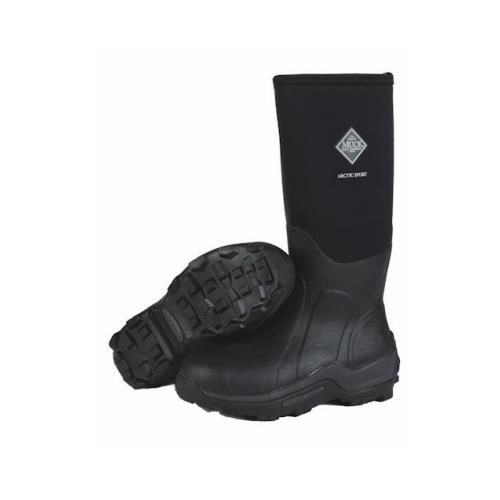 Muck Boot ASP000A-11 Arctic Sport High Boots, Black, Unisex Size ...