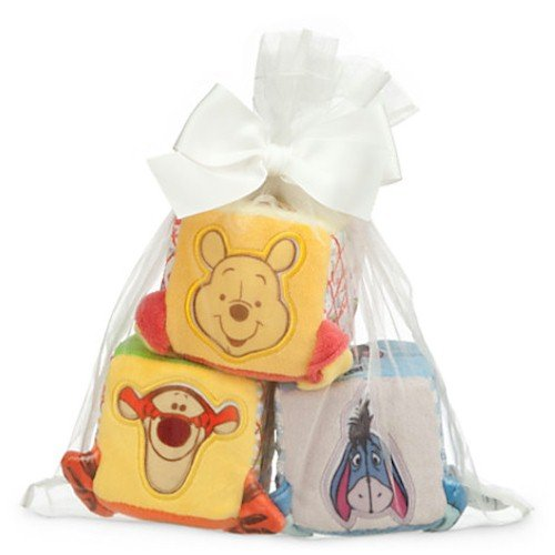 Disney Winnie the Pooh and Pals Soft Blocks for Baby by
