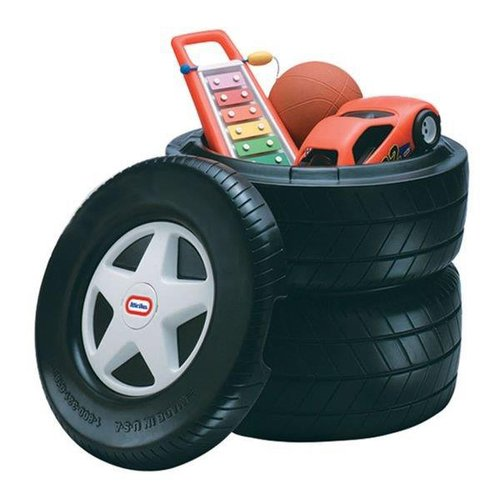Little Tikes Classic Racing Tire Toy Chest by MGA Entertainment