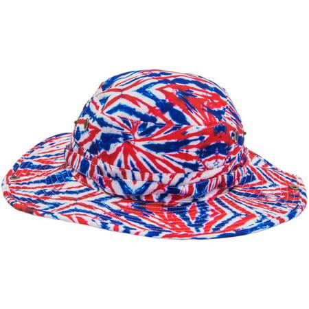 LICENSE - Mens Tie Dye Print Boonie Hat - Walmart.com 579c93515b2d