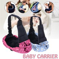 Adjustable Baby Carrier Bag Newborn Infant Baby Carrier Breathable Stretchy Wrap