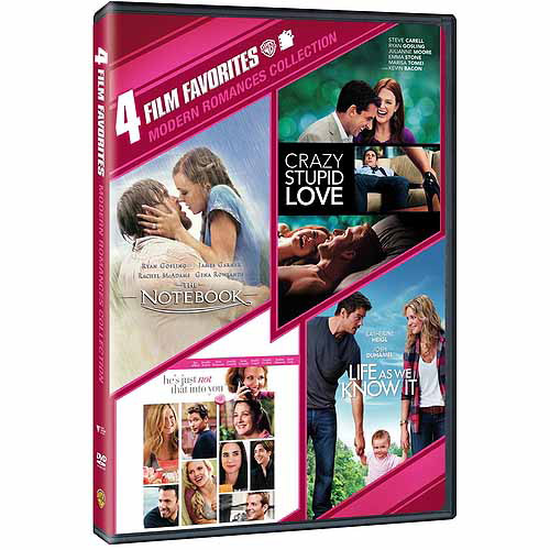 4 Film Favorites: Modern Romances Collection - The Notebook / He's Just Not That Into You / Life As We Know It / Crazy, Stupid, Love (Widescreen)