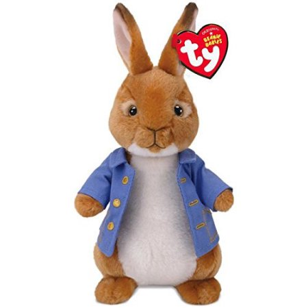 Blue Elephant Stuffed Animal (Ty Beanie Babies Blue Coat Peter Rabbit Easter , Licensed Plush Stuffed Animal Easter Plush 8