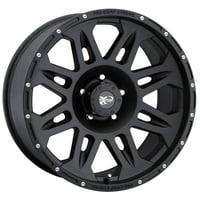 Pro Comp Alloy 7005-7973 Xtreme Alloys Series 7005 Black Finish