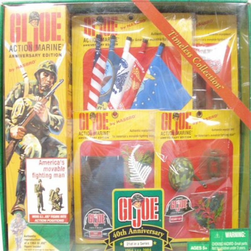 GI Joe Timeless Collection Anniversary Edition: Action Marine With Accessories by Hasbro