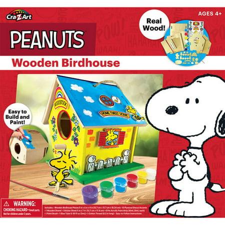 Cra-Z-Art Peanuts Wooden Birdhouse