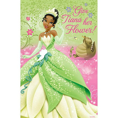 Princess and the Frog 'Sparkle' Party Game Poster (1ct) - Princess Party Theme
