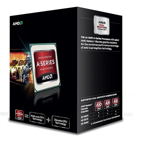 AMD A6-5400K 3.60 GHz Processor - Socket FM2 AD540KOKHJBOX