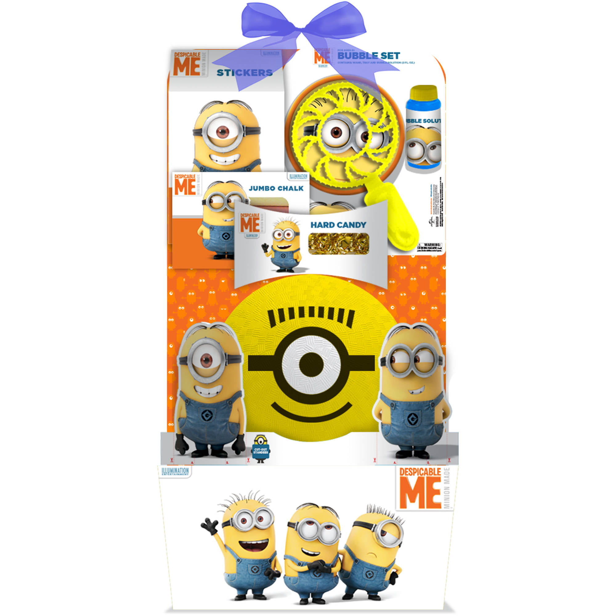 Minions deluxe easter basket 5 pc walmart negle Images