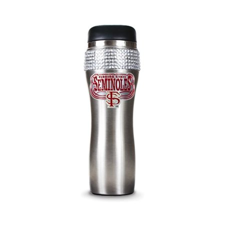 Collegiate Florida State Silver Jeweled 14oz Stainless