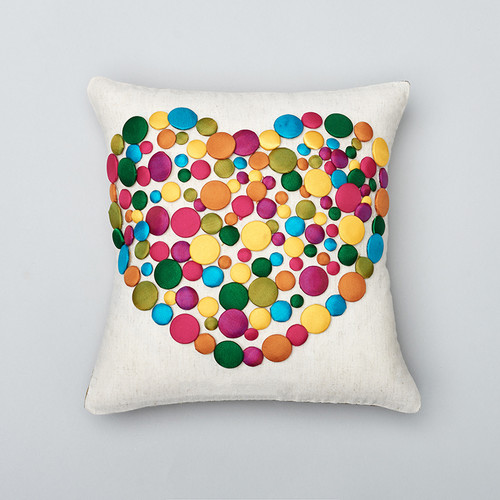 Amity Home Sweet Love Wool Throw Pillow