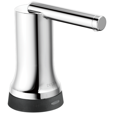 Delta Trinsic Contemporary Soap Dispenser with Touch2O.xt® Technology in Chrome 72065T Chrome Contemporary Soap Dispenser