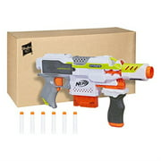 Nerf Stryfe Modulus Motorized Toy Blaster with Drop Grip, Barrel Extension, 6-Dart Clip, 6 Official Darts for Kids, Teens, & Adults