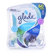 Glade PlugIns Scented Oil Air Freshener Refill, Clear Springs & Fresh Mountain Morning, 2 count, 1.34 Ounces