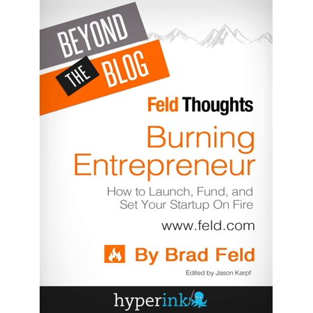 Brad Buddy Set (Beyond The Blog: Brad Feld's Burning Entrepreneur - How to Launch, Fund, and Set Your Start-Up On Fire! - eBook)