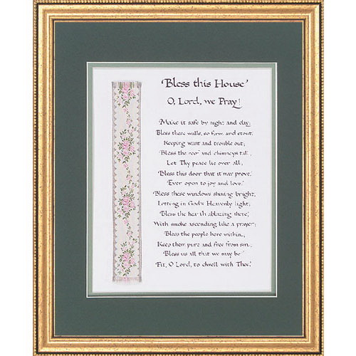 """Christian Brands 39-715 13x16"""" Bless This House Frame"""