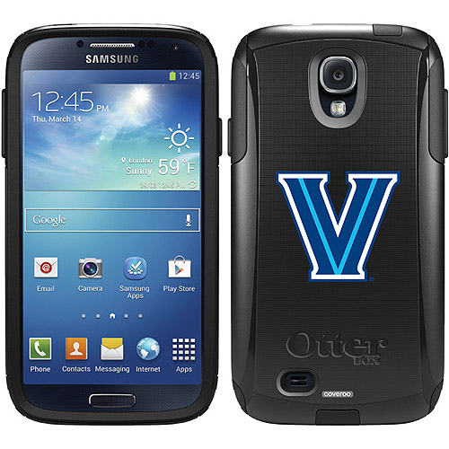 Villanova University V Design on OtterBox Commuter Series Case for Samsung Galaxy S4