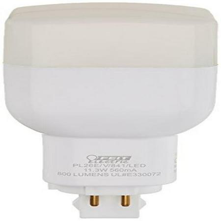 Feit Electric Pl26e V 841 Led Led Pl Vertical Recessed  800 Lm  26W Equivalent  Gx24q Base  4100K
