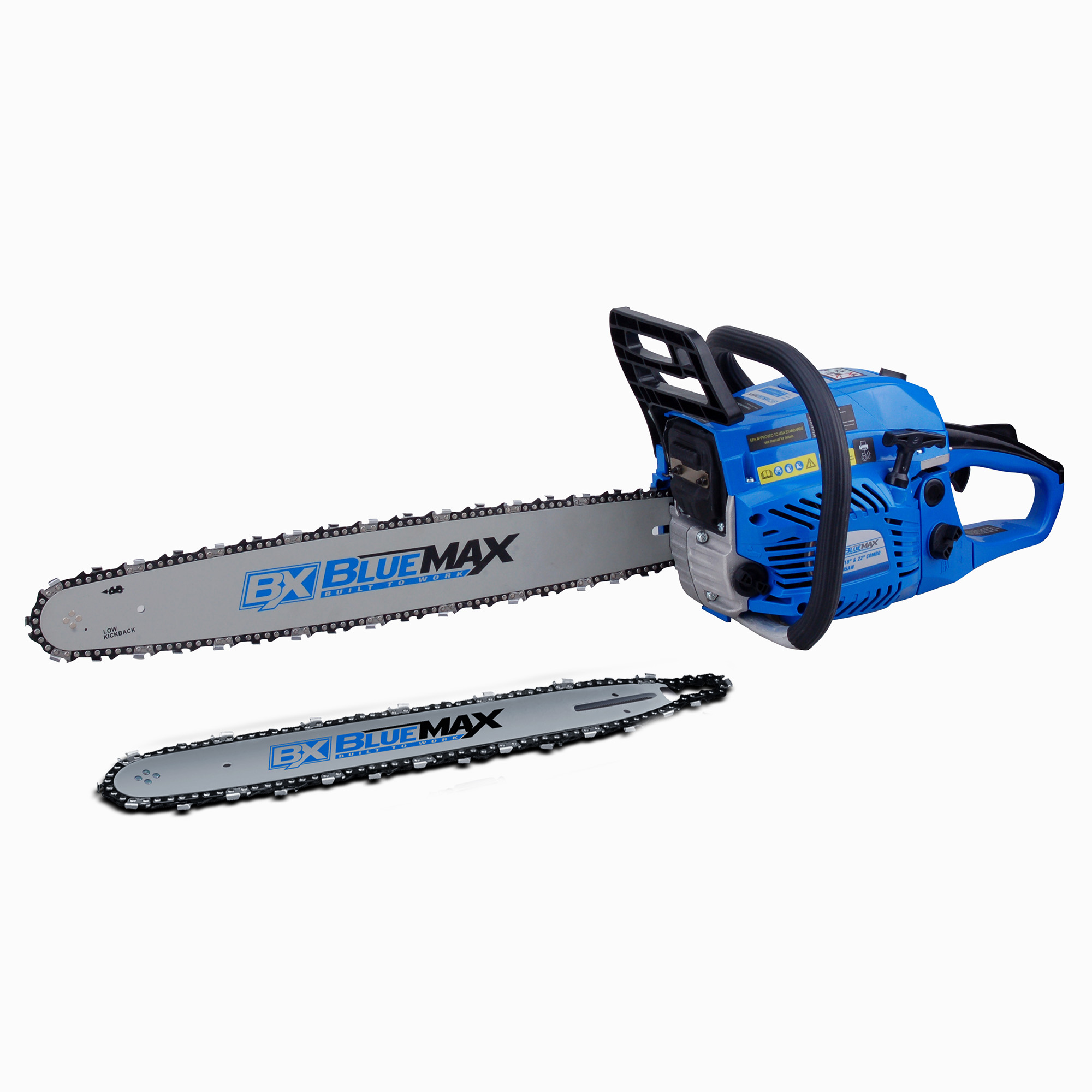 Blue Max 57cc 18in   22in Combo Chainsaw by NATI