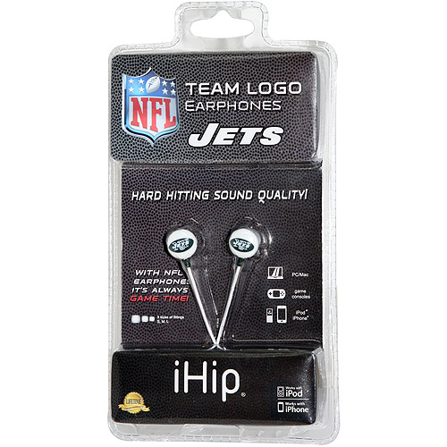 iHip NFL Mini Earbuds, New York Jets
