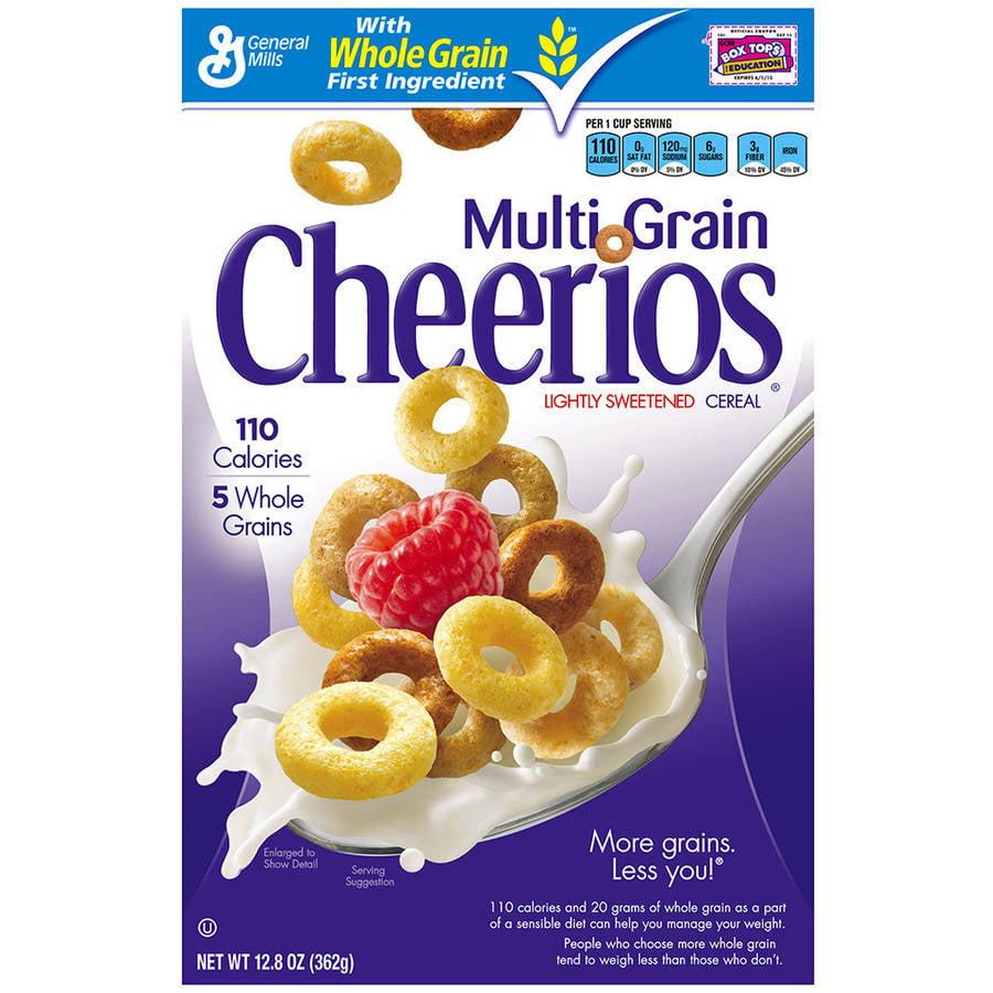 Multigrain Cheerios Cereal, 12.8 oz