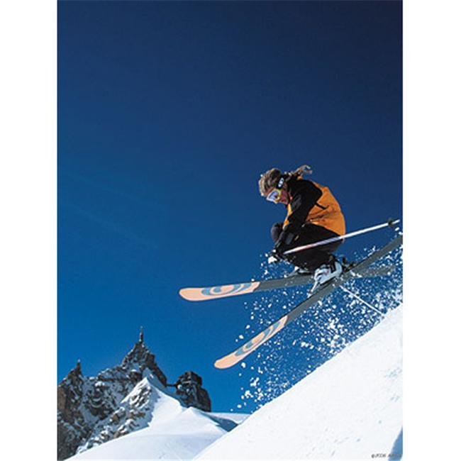 Art 4 Kids Ski Jump Canvas Art