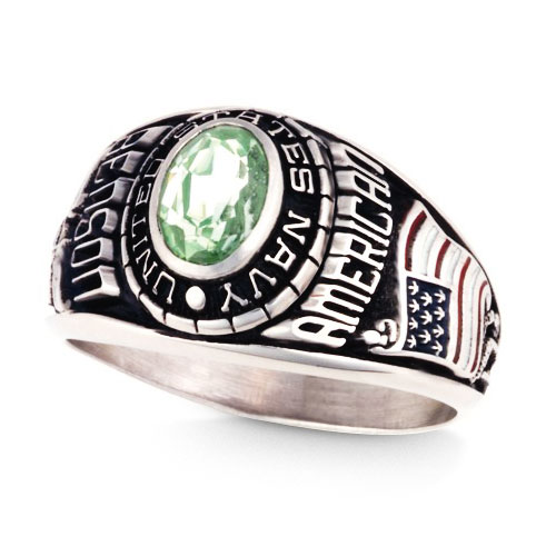 Keystone Women's Military Ring - All Branches Available