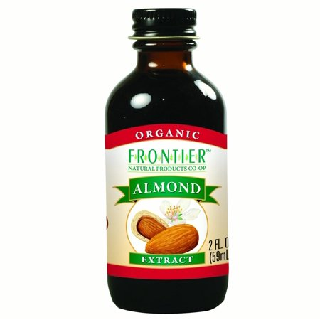 Frontier Almond Extract Certified Organic, 2 Ounce Bottle