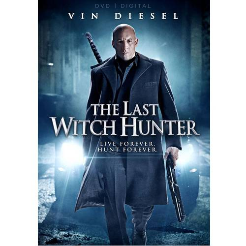 The Last Witch Hunter (DVD   Digital Copy) (With INSTAWATCH)