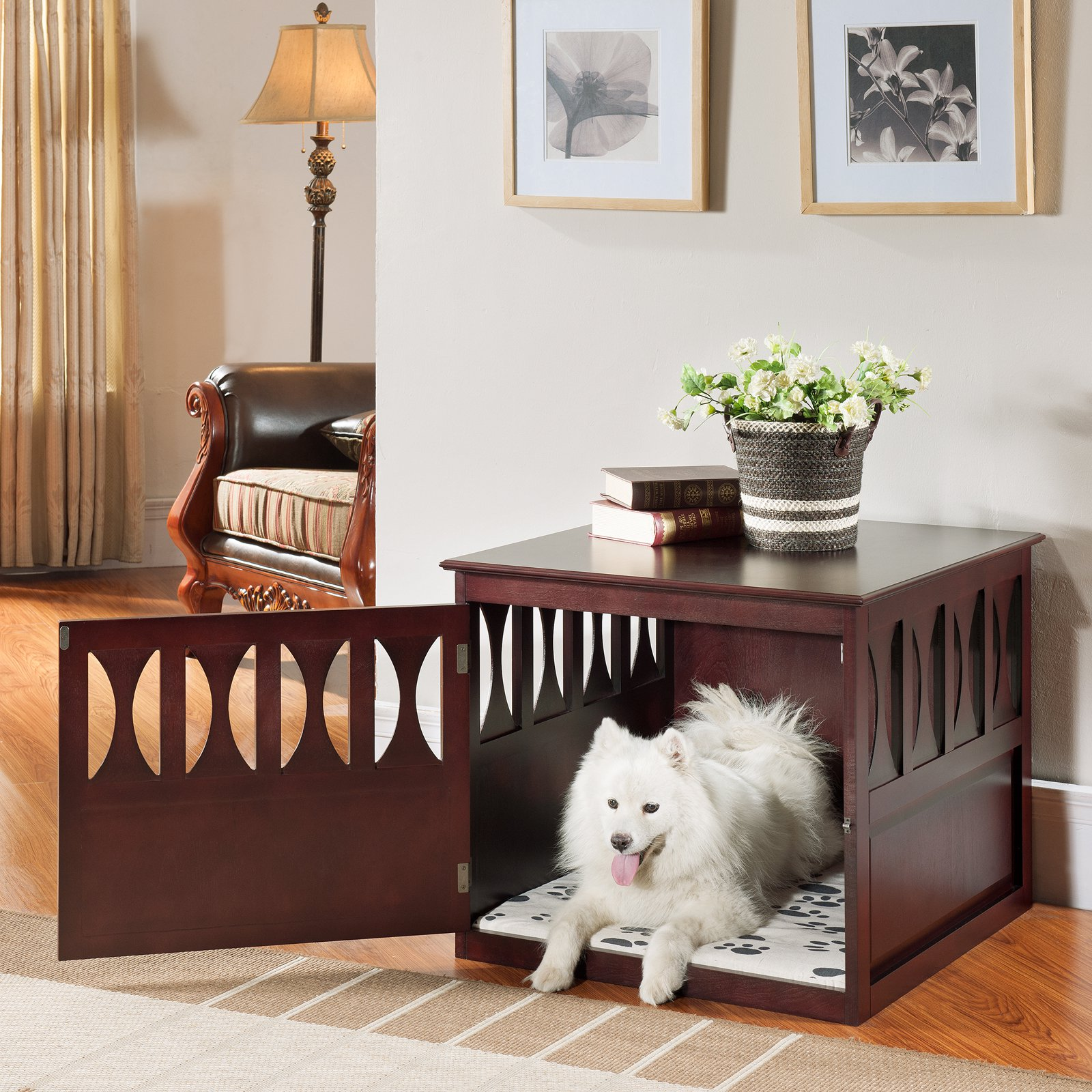 Elegant Home Fashions Aaron Pet Crate