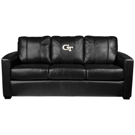 Georgia Couch (Georgia Tech Yellow Jackets Collegiate Silver Sofa )