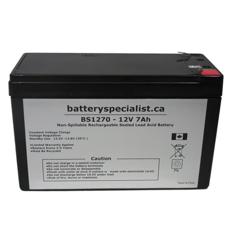 APC SMART-UPS 750VA USB SUA750 - Battery Replacement - 12V 7Ah - image 2 de 2