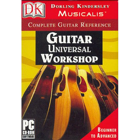 Guitar Universal Workshop: Beginner to Advanced - Chord Display, Digital Turner, Charts, Scales & Create Your Own Chords