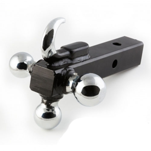 Hook And Triple Ball Trailer Tow Mount Hitch